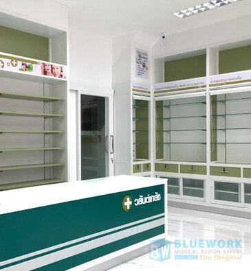 ออกแบบตกแต่งร้านขายยาวสันต์เภสัช-wasanbhaesaj1