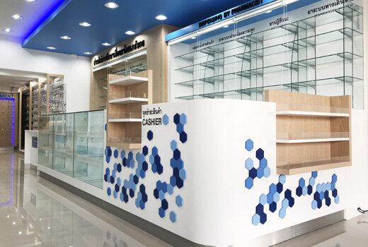 ออกแบบตกแต่งร้านขายยาวีระชัยเภสัช-weerachaibhaesaj