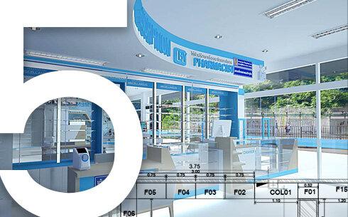 ออกแบบตกแต่งร้านยา-คลินิก-โรงพยาบาล-bluework-services5