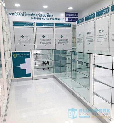 ออกแบบตกแต่งร้านขายยาเบนยองเซ่ฟาร์มา-benyongcepharma1