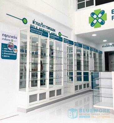ออกแบบตกแต่งร้านขายยาเบนยองเซ่ฟาร์มา-benyongcepharma3