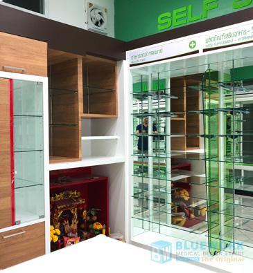ออกแบบตกแต่งร้านขายยาเพชรบูรณ์ฟาร์มาซี-phetchabunpharmacy3