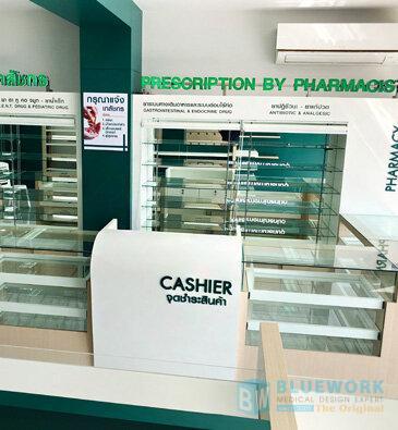 ออกแบบตกแต่งร้านขายยาสุวรรณภูมิ-suwannaphumbhaesaj1