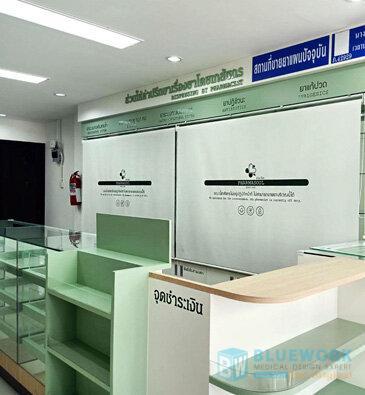 ออกแบบตกแต่งร้านขายยาฟาร์มาโซล-pharmasoul2