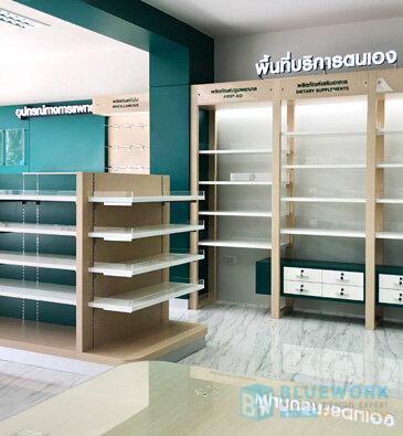 ออกแบบตกแต่งร้านขายยาสุวรรณภูมิ-suwannaphumbhaesaj3