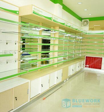 ออกแบบตกแต่งร้านขายยาดรักแอนด์ฟาร์ม่า-drug&pharma4