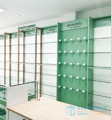 ออกแบบตกแต่งร้านขายยาฟาร์มาโซล-pharmasoul4