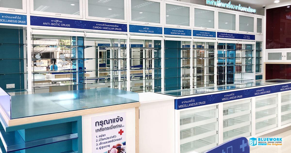 ออกแบบตกแต่งร้านขายยาฮกแซตึ้ง-hoksaetueng