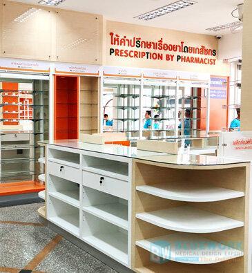 ออกแบบตกแต่งร้านขายยาไชยเวชภัณฑ์-chaimedicalsupply2