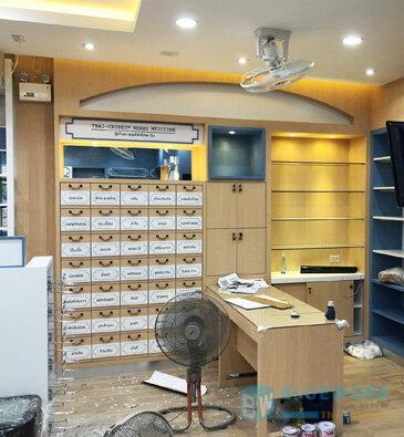 ออกแบบตกแต่งร้านขายยารุ่งเรืองเภสัช-rungruangbhasaj4