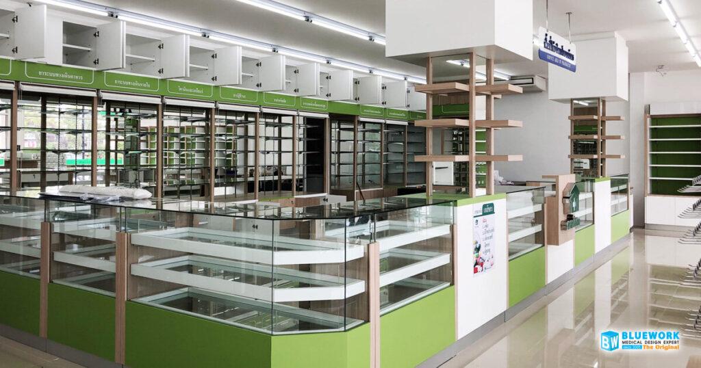 ออกแบบตกแต่งร้านขายยาศาลาโอสถ-salaosoth