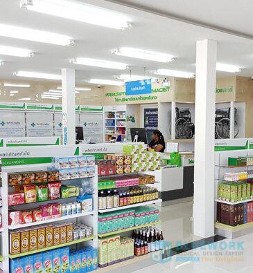 ออกแบบตกแต่งร้านขายยาสุกรีเภสัช-sukreepharma1