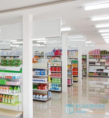 ออกแบบตกแต่งร้านขายยาสุกรีเภสัช-sukreepharma2