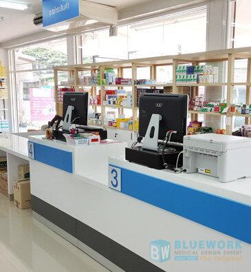 ออกแบบตกแต่งร้านขายยาสุกรีเภสัช-sukreepharma3