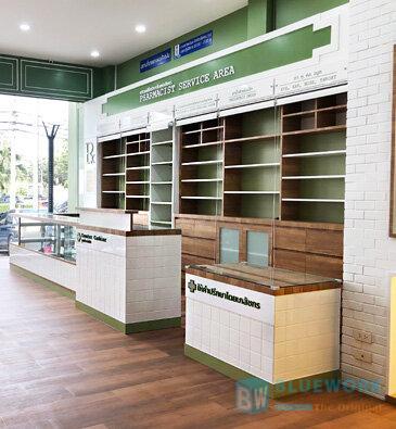 ออกแบบตกแต่งร้านขายยาเมืองทองดรักเฮ้าส์-muangthongdrughouse4