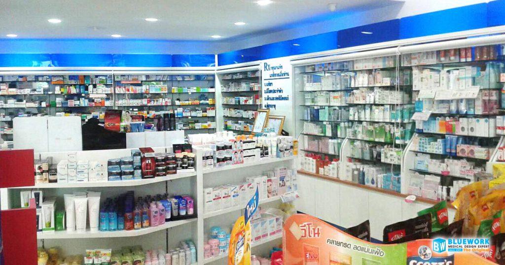 ออกแบบตกแต่งร้านขายยาไอแคร์พลัส-icareplus