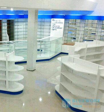 ออกแบบตกแต่งร้านขายยาไอแคร์พลัส-icareplus1