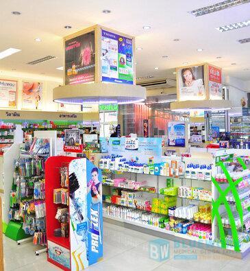 ออกแบบตกแต่งร้านขายยาศิริโรจน์โอสถ-sirirojosothsromedical1