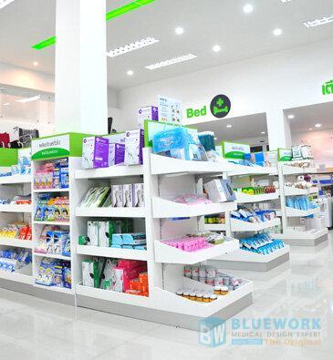 ออกแบบตกแต่งร้านขายยาศิริโรจน์โอสถ-sirirojosothsromedical2