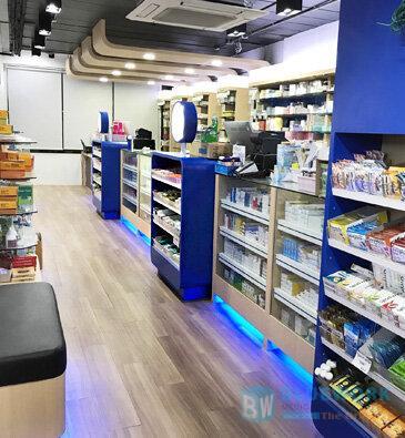 ออกแบบตกแต่งร้านขายยาไอแคร์-icare2