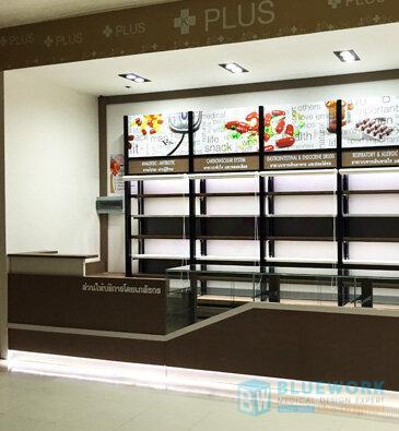 ออกแบบตกแต่งร้านขายยาเคพลัสเดอะมอลล์บางกะปิ-kplusthemallbangkapi3
