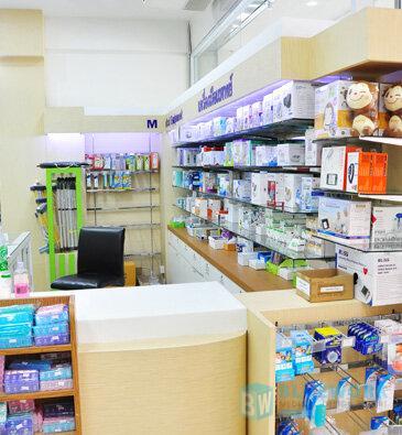 ออกแบบตกแต่งร้านขายยาศิริโรจน์โอสถ-sirirojosothsromedical3