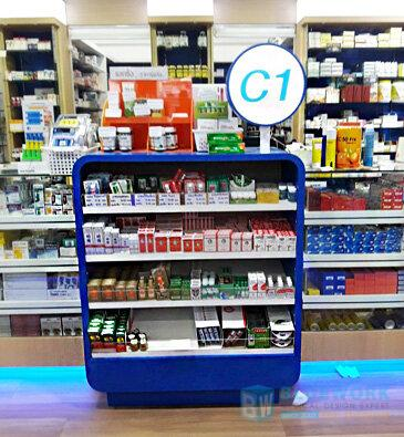 ออกแบบตกแต่งร้านขายยาไอแคร์-icare4