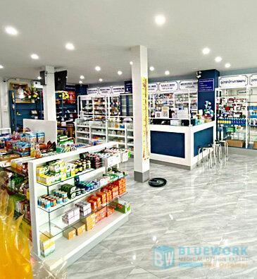 ออกแบบตกแต่งร้านขายยาฟาร์มาโซล-pharmasoul1