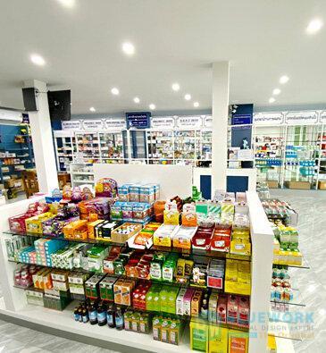 ออกแบบตกแต่งร้านขายยาฟาร์มาโซล-pharmasoul3