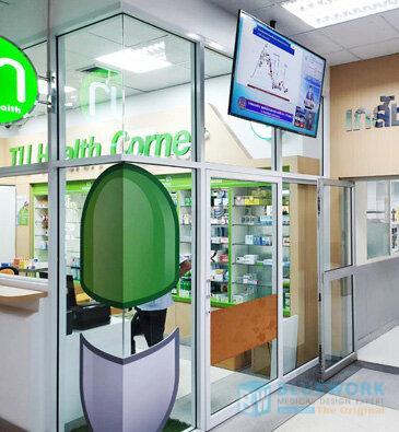 ออกแบบตกแต่งร้านขายยาทียูเฮลท์คอร์เนอร์-tuhealthcorner2