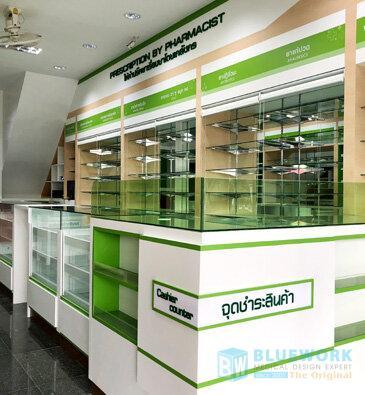 ออกแบบตกแต่งร้านขายยามายด์เภสัช-mindpharmacy1