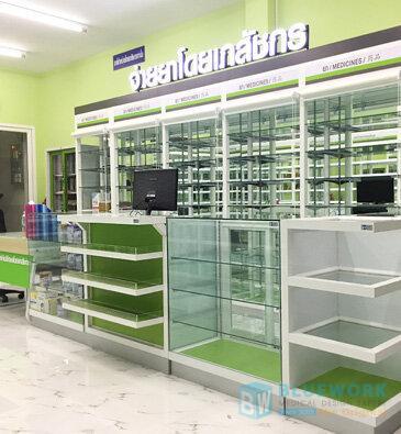 ออกแบบตกแต่งร้านขายยาแสงทองเภสัช-saengthonghatyaipharmacy1