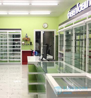 ออกแบบตกแต่งร้านขายยาแสงทองเภสัช-saengthonghatyaipharmacy2