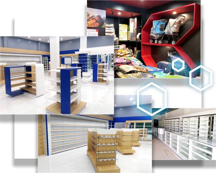 ออกแบบตกแต่งร้านยา-คลินิก-โรงพยาบาล-bluework-ออกแบบเฟอร์นิเจอร์