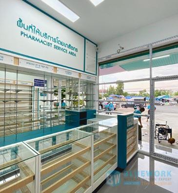 ออกแบบตกแต่งร้านขายยาอโยธยาเภสัช-ayothayabhaesaj2