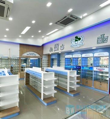 ออกแบบตกแต่งร้านขายยาเซ่งหมงฟาร์มาซี-sengmongpharmacy2
