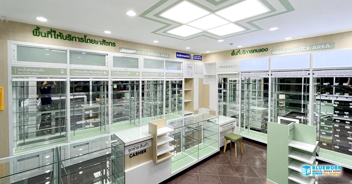 ออกแบบตกแต่งร้านขายยามุมยาเภสัชกร-mumyabhaesajchakorn