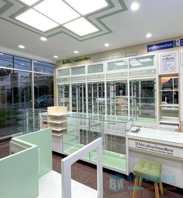 ออกแบบตกแต่งร้านขายยามุมยาเภสัชกร-mumyabhaesajchakorn2